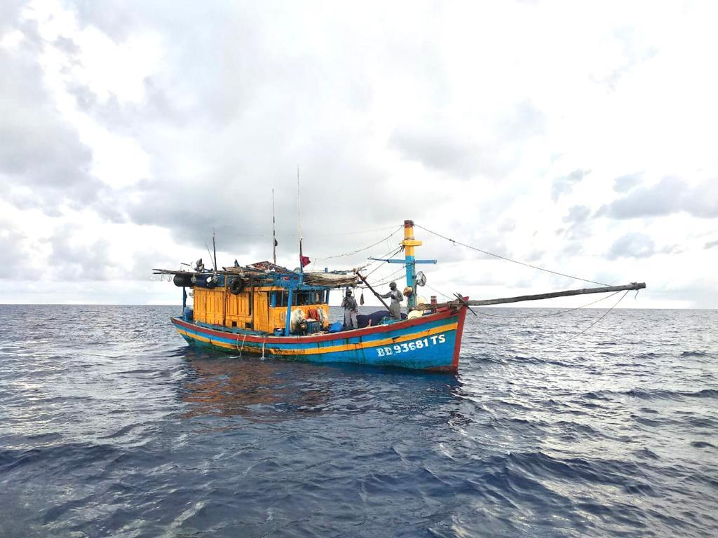 Pencurian ikan oleh kapal asing kian menggila di Natuna Utara