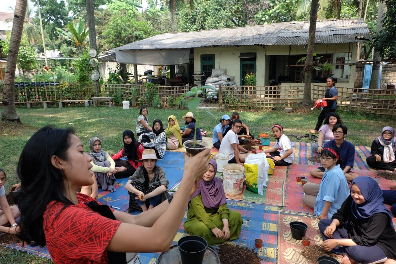 Soraya Cassandra: Berkebun Mengembalikan Tradisi dan Kearifan Lokal di Perkotaan