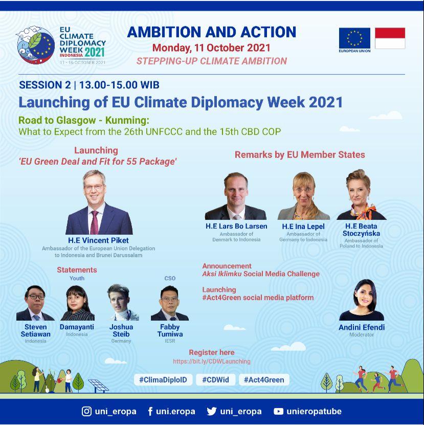 Undangan Peluncuran Kampanye Pekan Diplomasi Iklim 2021